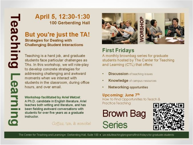 teaching and learning brown bag