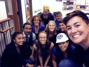 student services selfie
